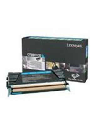 Lexmark Cyan High Yield Return Program Toner Cartridge (Yield 10,000 Pages) for C736/X736/X738