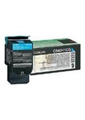 Lexmark Cyan High Yield Return Program Toner Cartridge (Yield 2,000 Pages) for C54x, X54x Colour Laser Printers