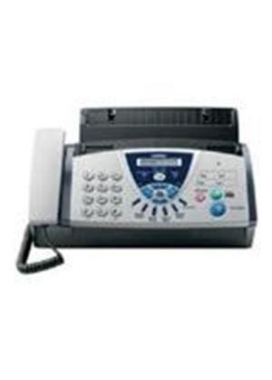Brother FAX-T106 Plain Paper Thermal Transfer Fax Machine with Digital Answering Machine