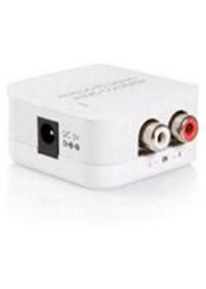 StarTech Stereo RCA to SPDIF Digital Coaxial and Toslink Audio Converter