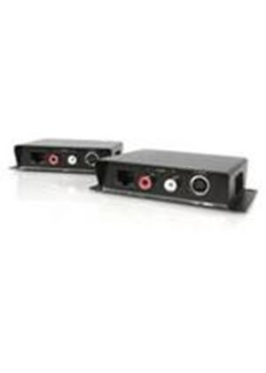 StarTech S-Video Video Extender over Cat 5 with Audio Video/audio extender external up to 200 m