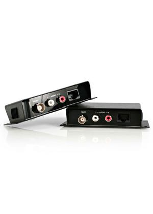 StarTech Composite Video Extender over Cat 5 with Audio Video/audio extender external up to 200 m
