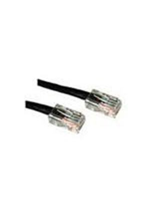 Cables To Go 0.5m Cat5E Crossover Patch Cable (Black)