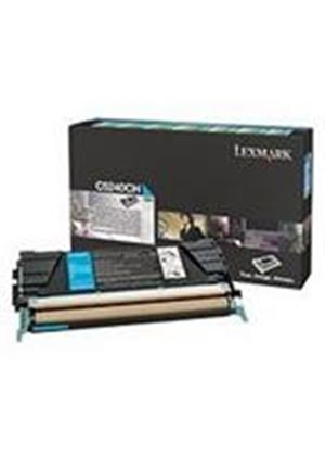 Lexmark Cyan High Yield Return Program Toner Cartridgefor C524 Printer (Yield 5,000 pages)