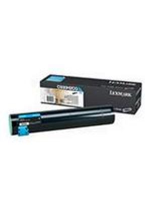 Lexmark C935 Cyan High Yield Toner Cartridge (Yield 24,000 Pages)