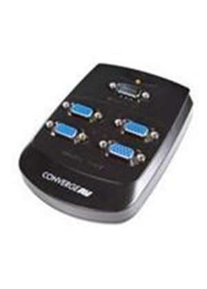 Startech Converge A/V 4 Port VGA Video Splitter Wall Mountable Video Splitter
