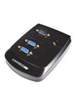 StarTech Converge A/V 2 Port VGA Video Splitter Wall Mountable Video splitter 2 ports cascadable