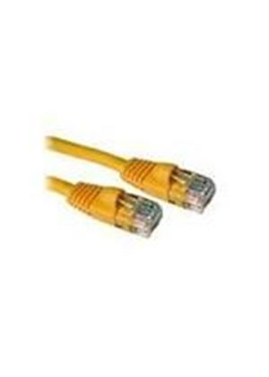 Cables To Go 0.5m Cat5e 350MHz Snagless Patch Cable (Yellow)