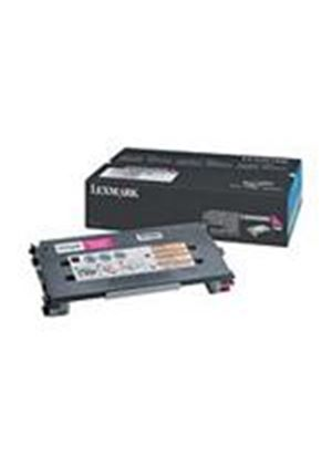 Lexmark C500 Magenta High Yield Toner Cartridge (Yield 3,000)