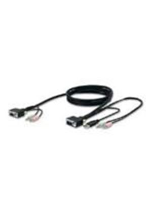Belkin SOHO KVM Replacement Cable Kit VGA and USB (3m)