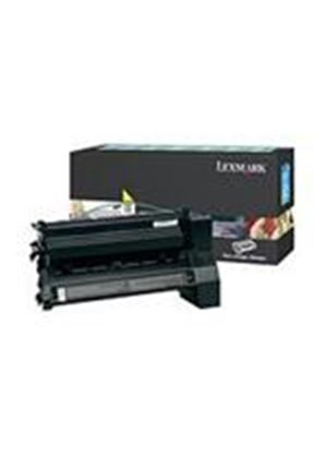 Lexmark C780, C782 Yellow High Yield Return Program Print Cartridge (Yield 10,000 page)
