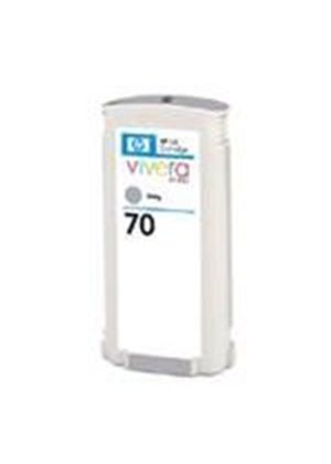 HP No.70 Grey Ink Cartridge (130ml) with Vivera Ink