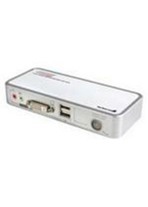 StarTech 2 Port USB DVI KVM Switch with Audio and Cables KVM / audio / USB switch USB 2 ports 1 local user