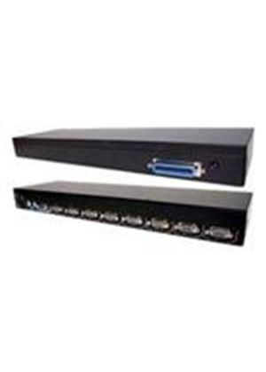 StarTech 8 Port Multi-Platform USB and PS/2 KVM Switch Module for 1U Cabinet Command Console