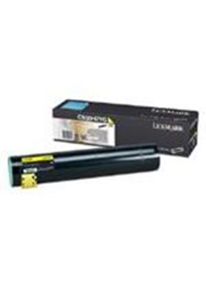 Lexmark Yellow High Yield Toner Cartridge (Yield 24,000 pages) for C935 Colour Laser Printers