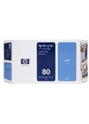 HP No.80 Cyan 175ml Ink System for DesignJet 1050C &1055CM
