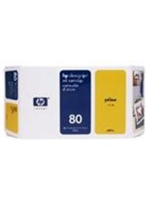 HP No.80 Ink System Yellow 175ml for DesignJet 1050C & 1055CM