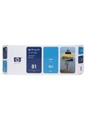 HP No.81 Cyan Dye Ink Cartridge (680ml) for the 5000 and 5000PS