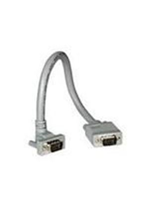 Cables To Go 2m Premium Shielded HD15 M/M SXGA 90° Up Angled Monitor Cable