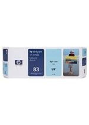 HP No.83 UV Light Cyan Ink Cartridge (680 ml) for DesignJet 5000