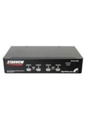 StarTech StarView SV431USB - KVM switch - USB - 4 ports - 1 local user - USB - 1U