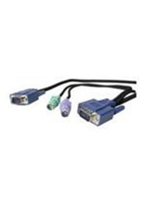 StarTech Ultra-Thin PS/2 3-in-1 KVM Cable (7.6m)