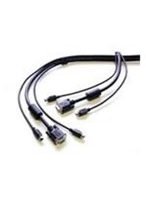 StarTech PS/2-Style 3-in-1 KVM Switch Cable (7.6m)