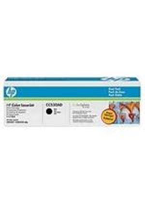 HP Color LaserJet CC530A Dual Pack Black Print Cartridges with ColorSphere Toner