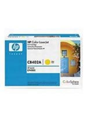 HP Colour LaserJet Yellow Print Cartridge (Yield 7,500 Pages) with HP Colorsphere Toner