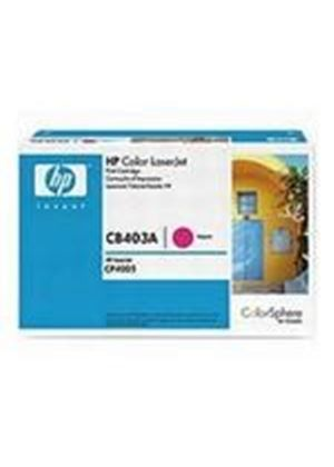 HP Colour LaserJet Magenta Print Cartridge (Yield 7,500 Pages) with HP Colorsphere Toner
