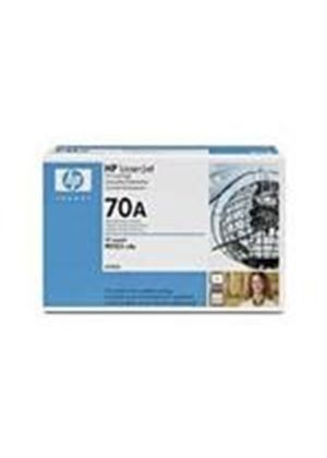 HP 70A Black Print Cartridge (Yield 15,000 Pages) with Smart Printing Technology for M5025mfp/m5035mfp