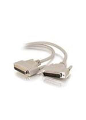 Cables To Go 2m IEEE-1284 DB25 M/F Parallel Printer Extension Cable