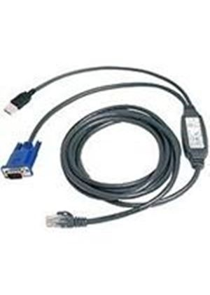 Avocent Autoview USB CAT 5 KVM Integrated Access Cable (10ft)
