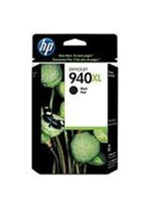 HP 940XL Black Officejet Ink Cartridge (Yield 2200 Pages) for Officejet Pro 8000, Officejet Pro 8500 All-in-One