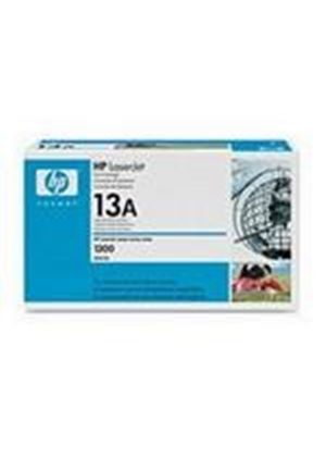 HP 13A Black LaserJet Printer Cartridge with Smart Printing Technology