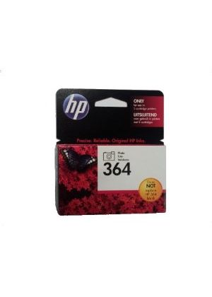 HP No.364 (Black) Photo Ink Cartridge (Yield 130 Pages) with Vivera Ink
