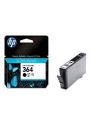 HP No.364 Black Ink Cartridge (Black) with Vivera Ink (Yield 250 Pages)