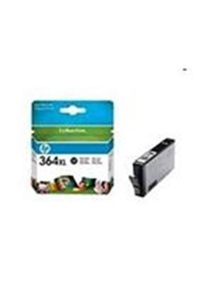 HP No. 364XL (Black) Photo Ink Cartridge (Yield 800 Pages) with Vivera Ink