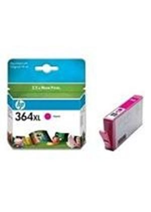 HP No. 364XL (Magenta) Photo Ink Cartridge (Yield 750 Pages) with Vivera Ink