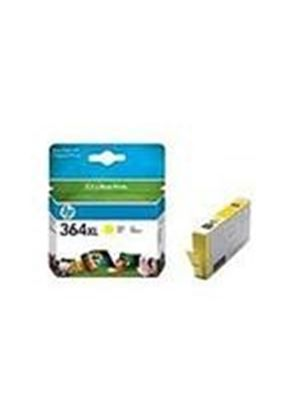 HP No.364XL (Yellow) Photo Ink Cartridge (Yield 750 Pages) with Vivera Ink