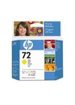 HP No. 72 Ink Cartridge (69 ml) with Vivera Ink (Yellow)