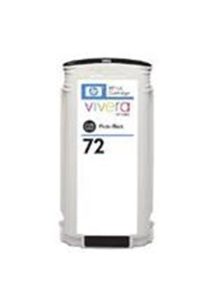 HP No. 72 Photo Ink Cartridge (130 ml) with Vivera Ink (Black)