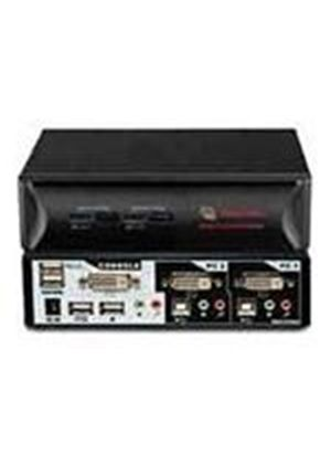 Avocent SwitchView DVI 2 Port KVM Switch