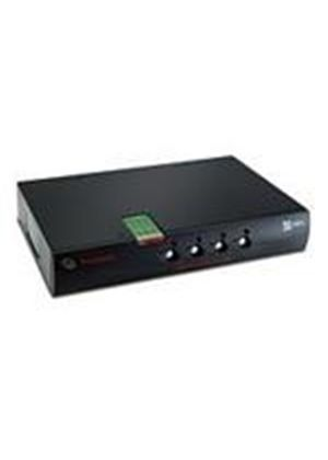 Avocent 1 x 4-port SwitchView SC420 KVM Switch with USB/DVI-I/Audio/CAC Support and Intrusion Detection