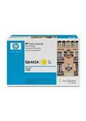 HP Colour LaserJet Yellow Print Cartridge (Yield 12,000 Pages) with ColorSphere Toner for the Colour LaserJet 4730mfp