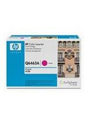 HP Colour LaserJet Magenta Print Cartridge (Yield 12,000 Pages) with ColorSphere Toner for the Colour LaserJet 4730mfp
