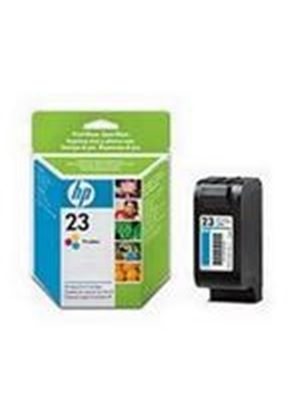 HP No.23 Tri-Colour InkJet Cartridge (30ml)