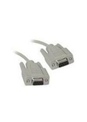 Cables To Go 5m DB9 F/F Cable (Beige)