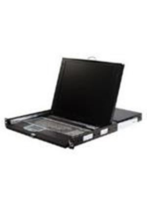 StarTech 1U 17 inch Rackmount LCD Console with Integrated 16 Port IP KVM Switch