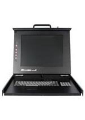 StarTech 1U DuraView 19 inch Folding LCD Rack Console
